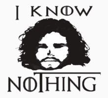 I KNOW NOTHING! Kids Clothes