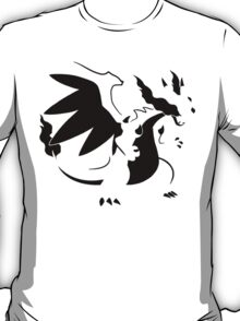 【1700+ views】Pokemon Mega Charizard X T-Shirt