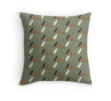 Fall Time Feathers Throw Pillow