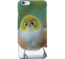 Little boy lost! - Silvereye - Wax Eye - New Zealand iPhone Case/Skin