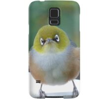 Little boy lost! - Silvereye - Wax Eye - New Zealand Samsung Galaxy Case/Skin