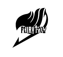 【2100+ views】Fairy Tail in Black Photographic Print