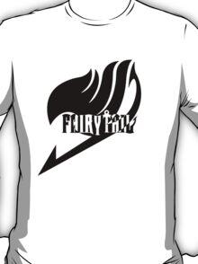 【2100+ views】Fairy Tail in Black T-Shirt