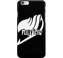 【4300+ views】Fairy Tail in White iPhone Case/Skin
