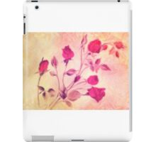 Silky Red Roses 2 iPad Case/Skin