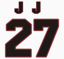 NFL Player J.J. Wilcox twentyseven 27 by imsport