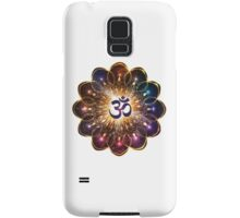 """The higher power of Om"" - sacred geometry Samsung Galaxy Case/Skin"