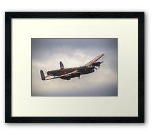 """Lancaster PA474  """"City of Lincoln"""" - HDR - Shoreham 2014 Framed Print"""