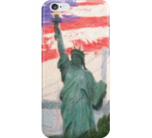 Statue-of-Liberty2 iPhone Case/Skin