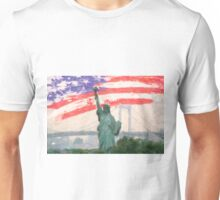 Statue-of-Liberty2 Unisex T-Shirt