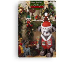 ¸¸.♥➷♥•*¨HAVE YOURSELF A BEARY LITTLE CHRISTMAS ¸¸.♥➷♥•*¨ Canvas Print