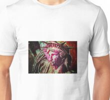 statue-of-liberty-2a Unisex T-Shirt