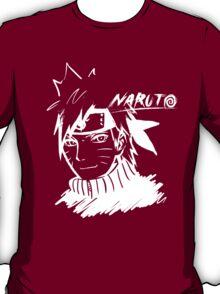 【1800+ views】NARUTO: Naruto T-shirt in White T-Shirt