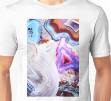 Agate Rocks, Slices of Earth Unisex T-Shirt