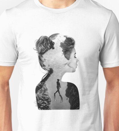 Double Exposure Diver Unisex T-Shirt