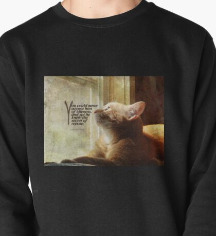 Cat in the window Pullover
