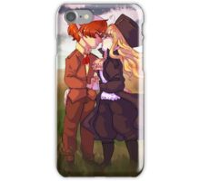 first love pair iPhone Case/Skin