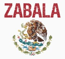 Zabala Surname Mexican Kids Clothes