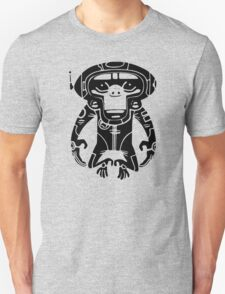 Black Space Monkeyz Graphic Unisex T-Shirt