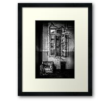 This is the way, step inside II Framed Print