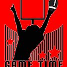 Game Time - Football (Red) by Adamzworld