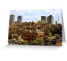 Beacon Hill Neighborhood ~ Boston Greeting Card