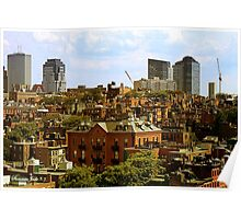 Beacon Hill Neighborhood ~ Boston Poster