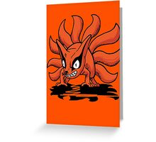 【4400+ views】NARUTO: Nine-tails Kurama (九尾·九喇嘛) Greeting Card