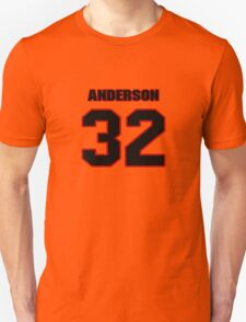 NFL Player Anderson Russell thirtytwo 32 T-Shirt