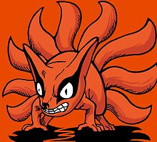 【4400+ views】NARUTO: Nine-tails Kurama (九尾·九喇嘛) by Ruo7in