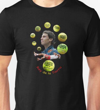 Rafa, el Rey de la Tierra Unisex T-Shirt