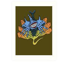 【2700+ views】NARUTO: Seven-tails Chomei (七尾·重明) Art Print