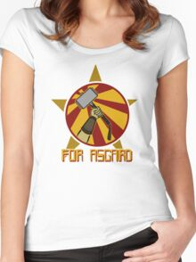 For Asgard! Women's Fitted Scoop T-Shirt