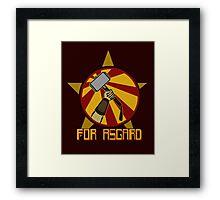 For Asgard! Framed Print