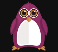 Violet Penguin 2 T-Shirt