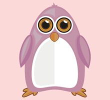 Pink Penguin Kids Tee