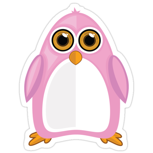 Pink Penguin 2 by Adamzworld