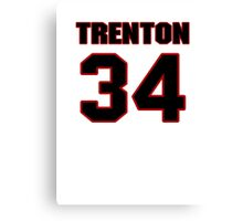 NFL Player Trenton Robinson thirtyfour 34 Canvas Print