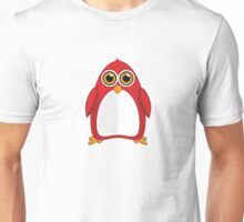 Red Penguin Unisex T-Shirt