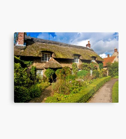 Country Cottage - North Yorkshire. Metal Print