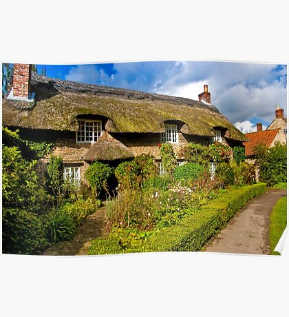 Country Cottage - North Yorkshire. Poster