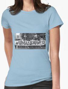 Women power Womens Fitted T-Shirt