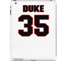 NFL Player Duke Ihenacho thirtyfive 35 iPad Case/Skin