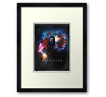 T.A.R.D.I.S. in space - Gallifrey Framed Print