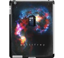 T.A.R.D.I.S. in space - Gallifrey iPad Case/Skin