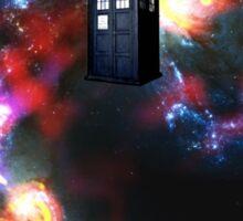 T.A.R.D.I.S. in space - Gallifrey Sticker