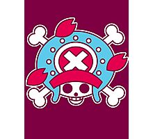 【2600+ views】ONE PIECE: Jolly Roger of TonyTony Copper Photographic Print