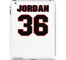 NFL Player Jordan Lynch thirtysix 36 iPad Case/Skin