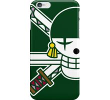 【6800+ views】ONE PIECE: Jolly Roger of Roronoa Zoro iPhone Case/Skin
