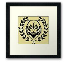 jungle master Framed Print